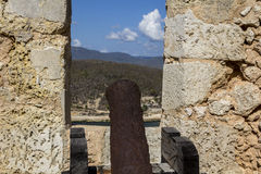 Vieux mur de forteresse Photo libre de droits