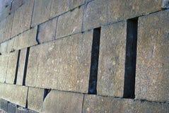Vieux mur de forteresse de Peter et de Paul à St Petersburg, Russie Image libre de droits