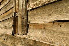 Vieux mur de grange Photos libres de droits