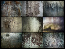 Vieux mur de Grunged photographie stock