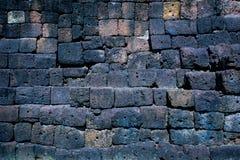 Vieux mur de latérite Photo libre de droits