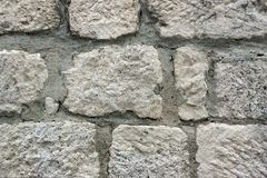 Vieux mur de maçonnerie Photos stock