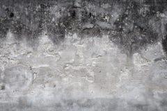 Vieux mur de maison avec le plâtre criqué photo libre de droits