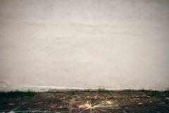 Vieux mur de plâtre image stock