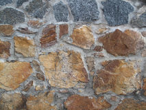 Vieux mur de roche Photo libre de droits