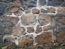 Vieux mur de roche Image stock
