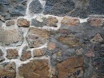 Vieux mur de roche Photo stock