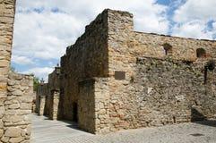 Vieux mur de ville - Bardejov - Slovaquie Images libres de droits