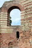 Vieux mur du Kaiserthermen Photographie stock