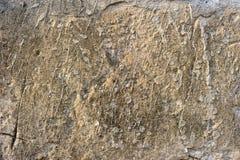 Vieux mur en béton rayé Photo stock