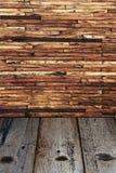 Vieux mur en bois Photographie stock libre de droits