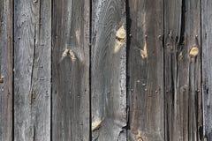 Vieux mur en bois Photos libres de droits