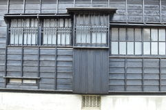 Vieux mur en bois Image libre de droits