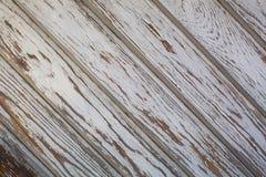 Vieux mur en bois avec la peinture d'épluchage Texture photographie stock