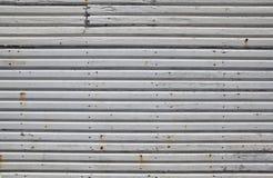 Vieux mur en bois blanc Photos libres de droits
