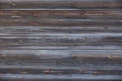 Vieux mur en bois de la maison des conseils Image stock