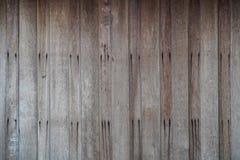 Vieux mur en bois de planche Image libre de droits