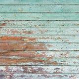 Vieux mur en bois peint - texture ou fond image libre de droits