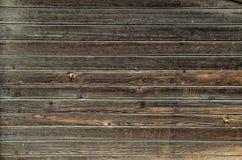 Vieux mur en bois sale Photographie stock libre de droits