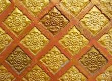 vieux mur en céramique Photo stock