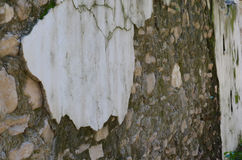 Vieux mur en pierre Photo libre de droits