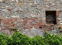 Vieux mur en pierre Photo stock