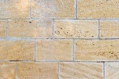 Vieux mur en pierre classique Photo libre de droits