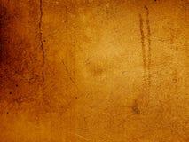 Vieux mur en pierre criqué et de staind dans la sépia photos stock