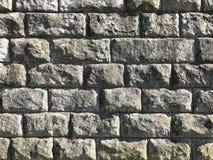 Vieux mur en pierre Texture et fond rustiques Images libres de droits