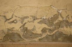 Vieux mur endommagé Images libres de droits