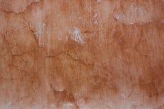 Vieux mur endommagé de vintage avec des éraflures Photographie stock libre de droits
