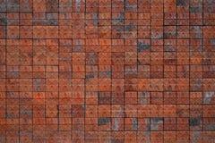 Vieux mur et tuile rouge photographie stock