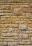 Vieux mur fait au hasard de bloc (fond) Photographie stock libre de droits