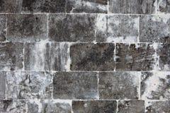 Vieux mur fait de pierres légères Image libre de droits