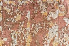 Vieux mur loqueteux photographie stock
