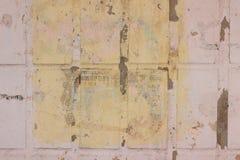 Vieux mur loqueteux image stock
