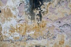 Vieux mur loqueteux Texture Fin vers le haut Configuration images stock