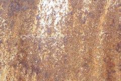 Vieux mur métallique Porte de garage Texture Images stock