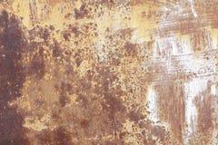 Vieux mur métallique Porte de garage Texture Images libres de droits