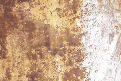 Vieux mur métallique Porte de garage Texture Image libre de droits