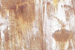 Vieux mur métallique Porte de garage Texture Photos libres de droits