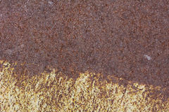 Vieux mur métallique Porte de garage Texture Photographie stock libre de droits