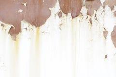 Vieux mur métallique Porte de garage Texture Fond grunge de type Photographie stock