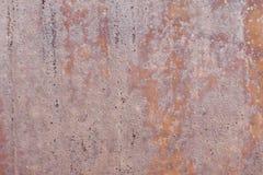 Vieux mur métallique Porte de garage Texture Fond grunge de type Mur rouillé Image stock