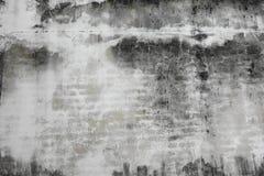 Vieux mur noir et blanc Image libre de droits