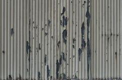 Vieux mur ondulé Images libres de droits