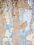Vieux mur ruiné Photo libre de droits