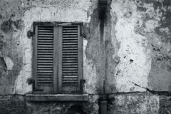 Vieux mur rustique Image libre de droits