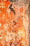 Vieux mur superficiel par les agents Image libre de droits