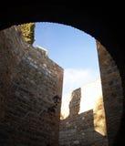 Vieux murs Image libre de droits